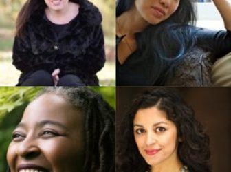 Tina Chang, Camille Dungy, Aimee Nezhukumatathil, and Erika Meitner